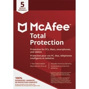 McAfee Canada Total Protection 5 Device [Download]