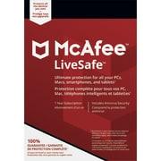 McAfee Canada LiveSafe Device Attach 2018 [téléchargement]
