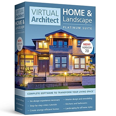 Avanquest – Logiciel Virtual Architect Home & Landscape Platinum Suite [téléchargement]