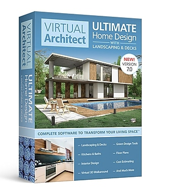 Virtual Architect Ultimate Home Design with Landscaping & Decks ...