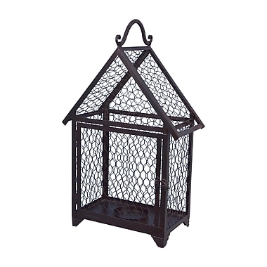 Gracie Oaks Web Lantern