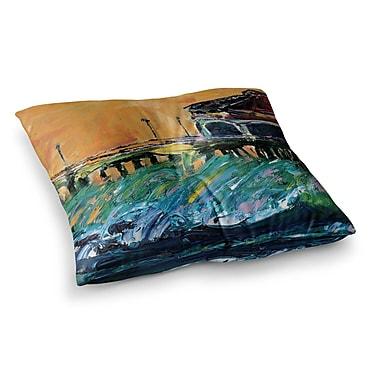 East Urban Home Offshore Beauty by Josh Serafin Floor Pillow; 26'' x 26''