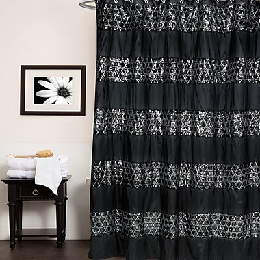 Sweet Home Collection Sinatra Luxury Shower Curtain