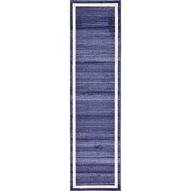 Orren Ellis Christi Blue/Beige Area Rug; Runner 2'7'' x 10'