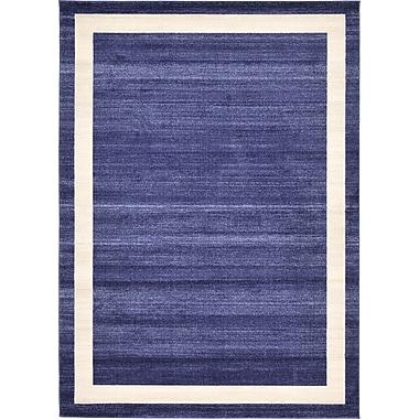 Orren Ellis Christi Blue/Beige Area Rug; 6' x 9'