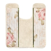 Sweet Home Collection Rose Print Contour Mat