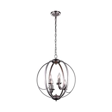 CrystalWorld 6-Light Globe Pendant