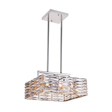 CrystalWorld Squill 8-Light LED Drum Chandelier