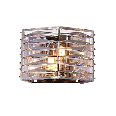 CrystalWorld Squill 2-Light LED Wall Sconce