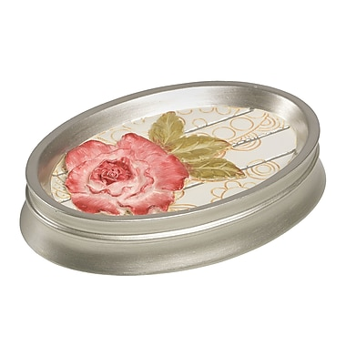Sweet Home Collection Floral Soap Dish