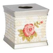 Sweet Home Collection Floral Tissue Box Cover