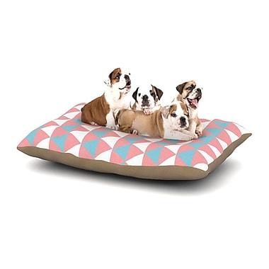 East Urban Home 'Be Still' Dog Pillow w/ Fleece Cozy Top; Large (50'' W x 40'' D x 8'' H)