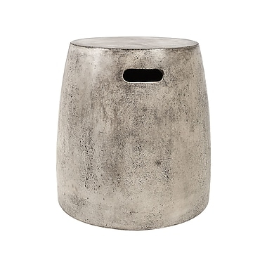 Bloomsbury Market Arias Waxed Concrete Stool