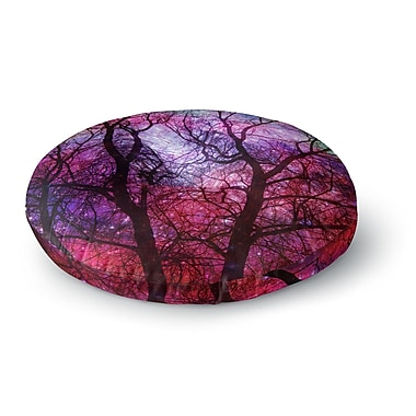 East Urban Home Suzanne Carter 'Starry Night' Round Floor Pillow; 26'' x 26''