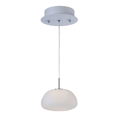 Orren Ellis Burrus 1-Light Abstract Shade Pendant