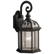 Charlton Home Brick and Barrel Exterior 1-Light Armed Sconce