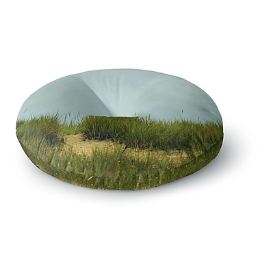 East Urban Home Robin Dickinson 'Hand in Hand' Round Floor Pillow; 23'' x 23''