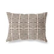 Ivy Bronx Henley Tile Stripe Outdoor Lumbar Pillow