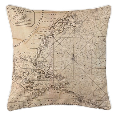 Longshore Tides Ellisburg Old World Throw Pillow