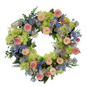 Jane Seymour Botanicals Garden 22'' Wreath