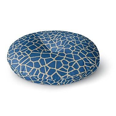 East Urban Home Trebam 'Staklo IV' Round Floor Pillow; 26'' x 26''
