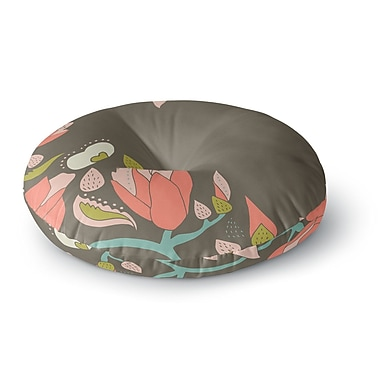 East Urban Home Very Sarie 'Penelope I' Round Floor Pillow; 26'' x 26''