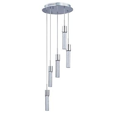 Orren Ellis Saturn 5-Light LED Pendant