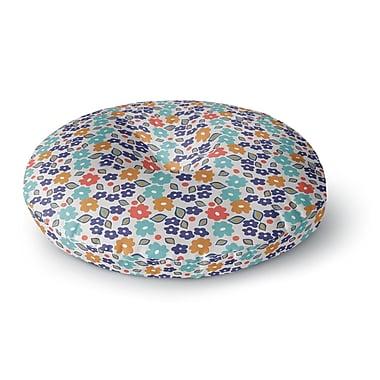East Urban Home Louise Machado 'Joli' Round Floor Pillow; 23'' x 23''