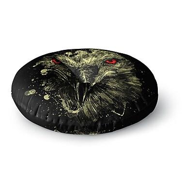 East Urban Home BarmalisiRTB 'Eagle' Round Floor Pillow; 23'' x 23''