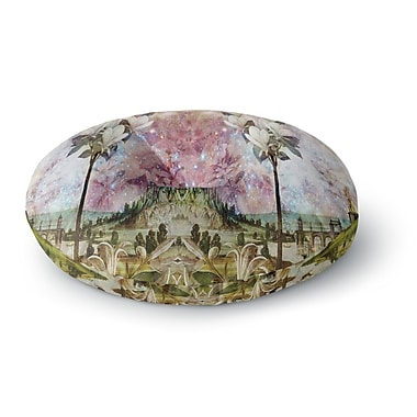 East Urban Home Suzanne Carter 'The Magnolia Trees' Round Floor Pillow; 26'' x 26''