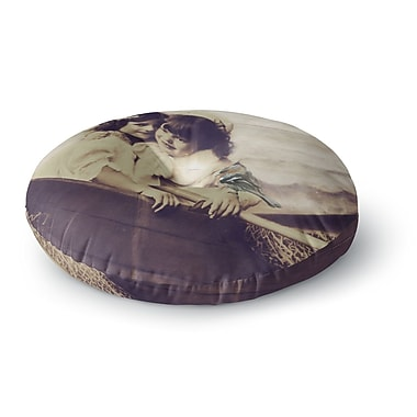 East Urban Home Suzanne Carter 'Journey' Round Floor Pillow; 23'' x 23''