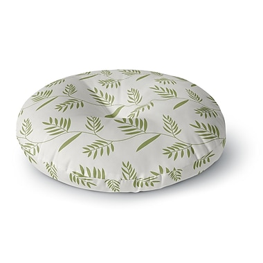 East Urban Home Snap Studio 'Ferngully' Round Floor Pillow; 26'' x 26''