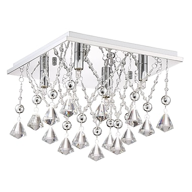 Orren Ellis Coletta 4-Light Flush Mount
