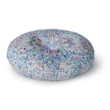 East Urban Home Kathryn Pledger 'Looking' Round Floor Pillow; 23'' x 23''