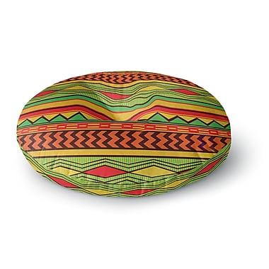 East Urban Home Louise Machado 'Egyptian' Round Floor Pillow; 23'' x 23''