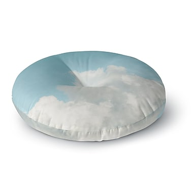 East Urban Home Suzanne Harford 'Summer Sky 3' Photography Round Floor Pillow; 26'' x 26''