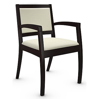 Global Beach Armchair w Espresso Cafe Wood Frame, Terrace