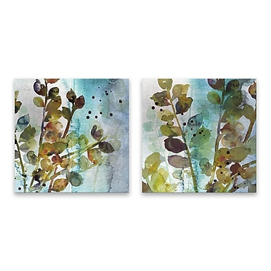 Artissimo Within I & II, Gallery Wrapped Canvas,14W x 14H x 1.25D Wall Art