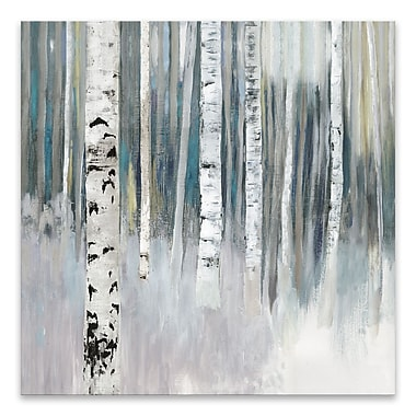 Artissimo Designs – Toile galerie « Birch I », 27 larg. x 27 haut. x 1,5 prof. (po)