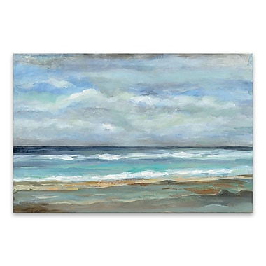 Artissimo Seashore I, Gallery Wrapped Canvas, 36W x 24H x 1.25D Wall Art