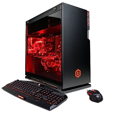 CyberPowerPC-PC Gamer Supreme Liquid Cool SLC8620INC, 3,5GHz Core i7-7800X, DD 2To + 240Go SSD, 16 Go, GeForce GTX 1070, Win10
