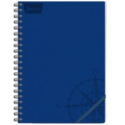 Norma Leather Concept Notebook, Assorted Colours,  240 Pages, 4/Pack (550157)