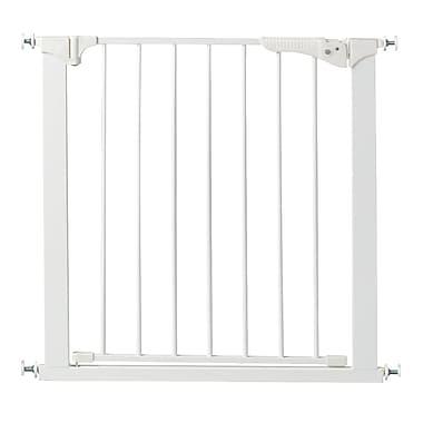 KidCo – Barrière à pression Gateway de 37 po, blanc