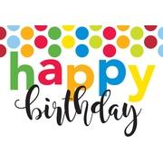 Millbrook Studios – Cartes de souhaits et enveloppes, Happy Birthday, 5 3/8 x 7 3/4 po, 18/paquet (06218)