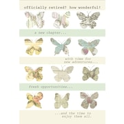 """Millbrook Studios 5-3/8"""" x 7-3/4"""" Officially Retired? Greeting Cards And Envelopes, 18/Pack (06754)"""