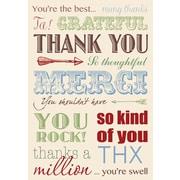 Millbrook Studios – Cartes de souhaits et enveloppes, You're The Best, 5 3/8 x 7 3/4 po, 18/paquet (06800)