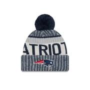 New England Patriots On-Field Sport Knit Pom Toque