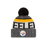 Pittsburgh Steelers On-Field Sport Knit Pom Toque