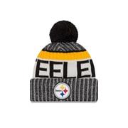 Tuque sport tricotée avec pompon des Steelers de Pittsburgh