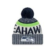 Seattle Seahawks On-Field Sport Knit Pom Toque